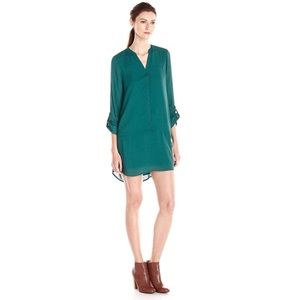 Jack by BB Dakota Holiday Green Donny Dress